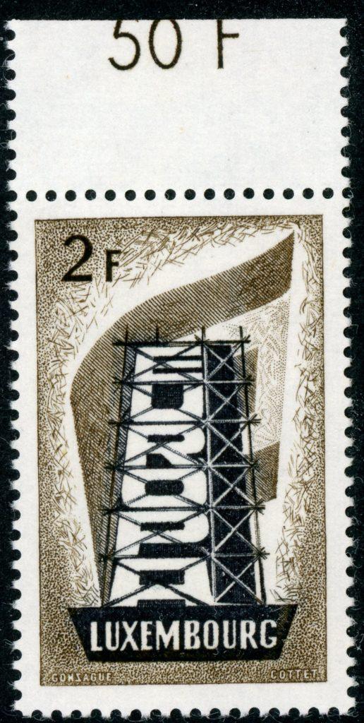 Luxemburg 555 postfrisch
