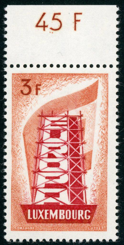 Luxemburg 556 postfrisch