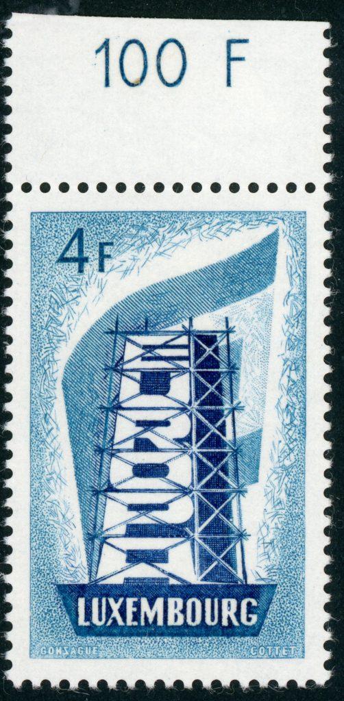 Luxemburg 557 postfrisch