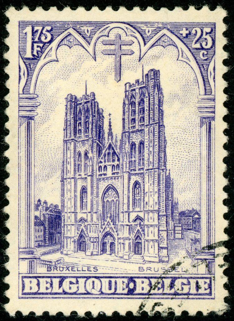 Belgien 248 gestempelt