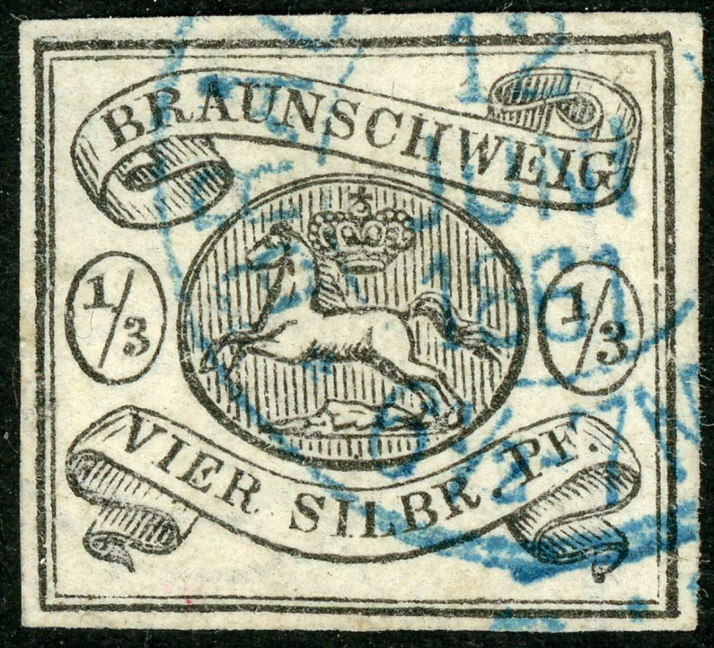 Braunschweig 5 gestempelt