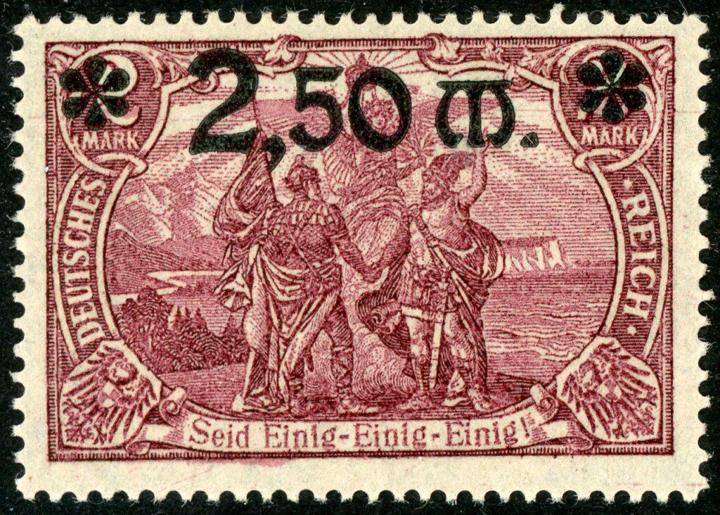 Deutsches Reich 118a postfrisch