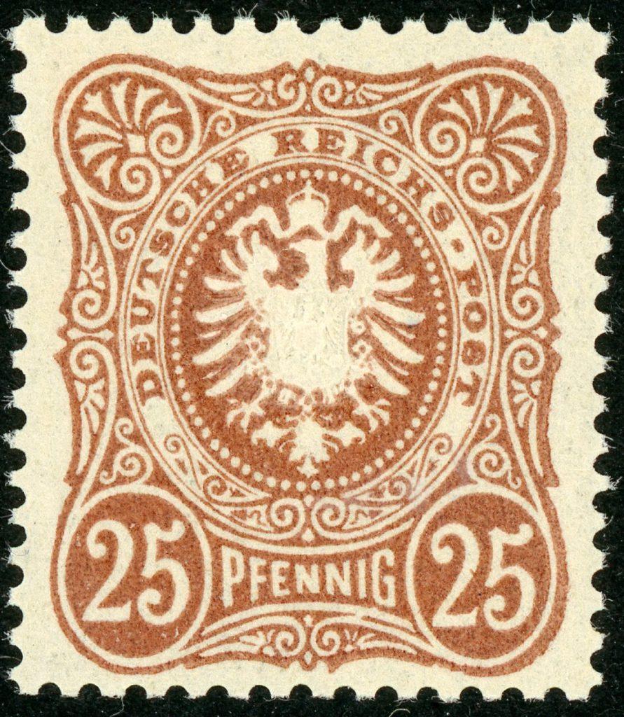 Deutsches Reich 43II postfrisch