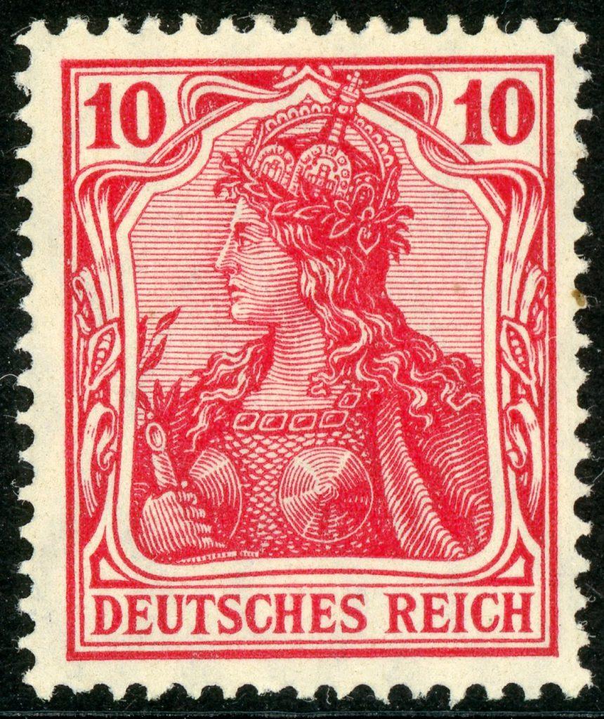 Deutsches Reich 86Ia postfrisch