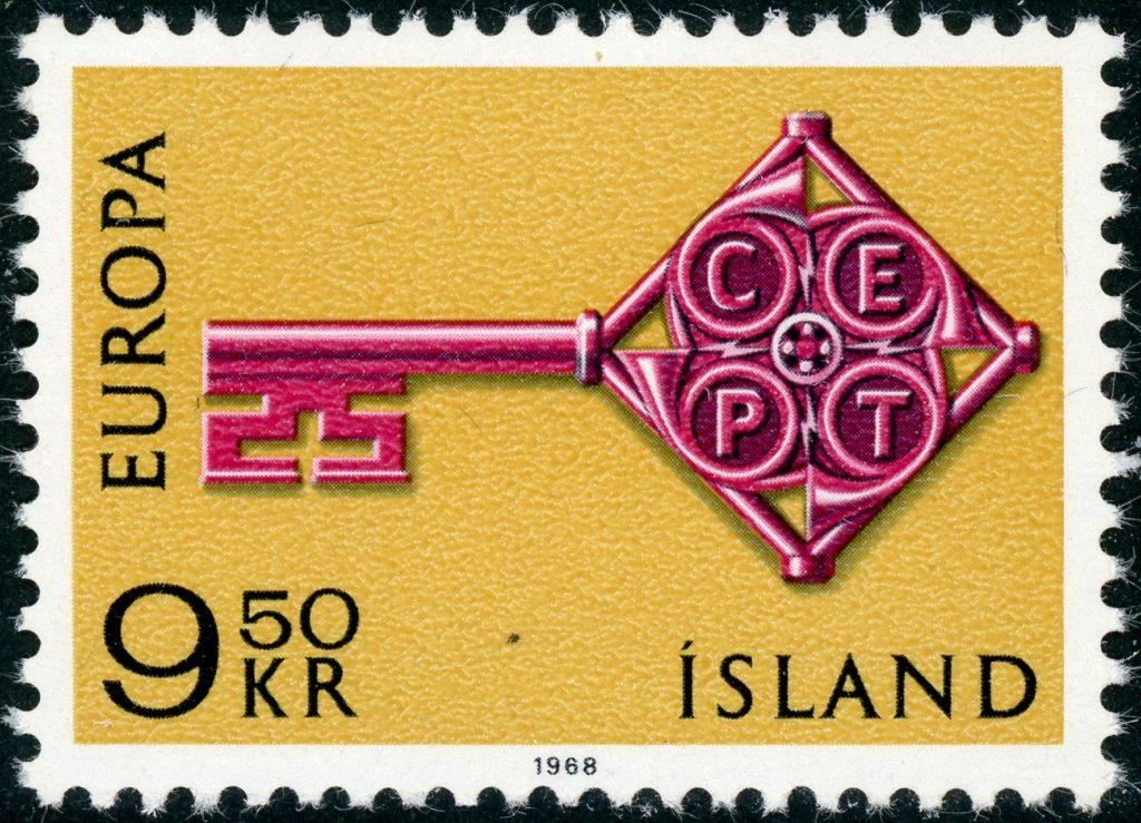 Island 417 postfrisch