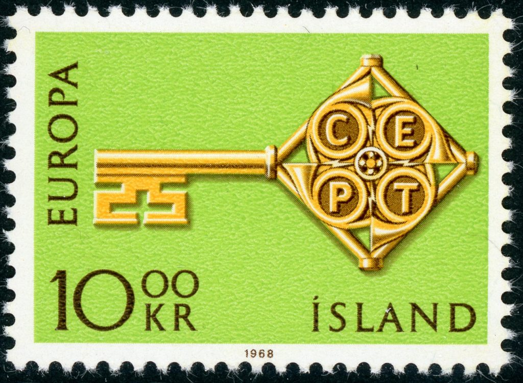 Island 418 postfrisch