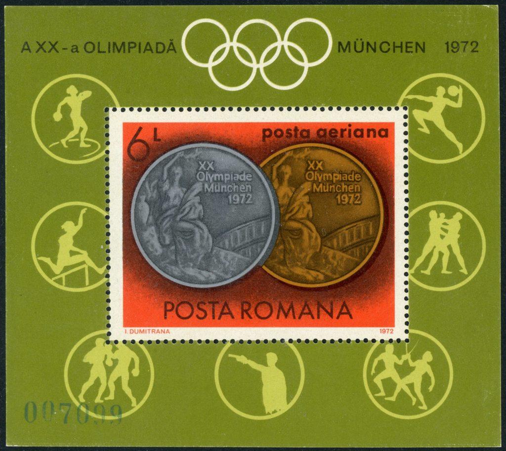 Rumänien Block 100 postfrisch