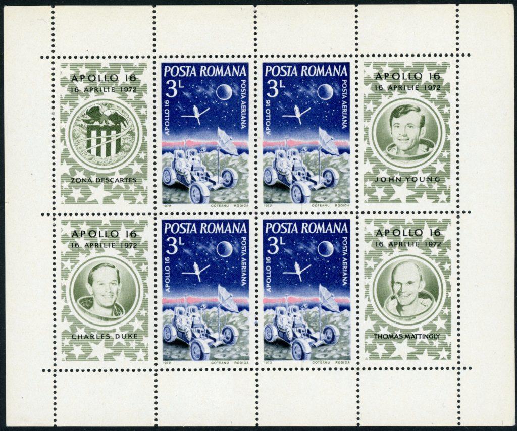 Rumänien Block 95 postfrisch