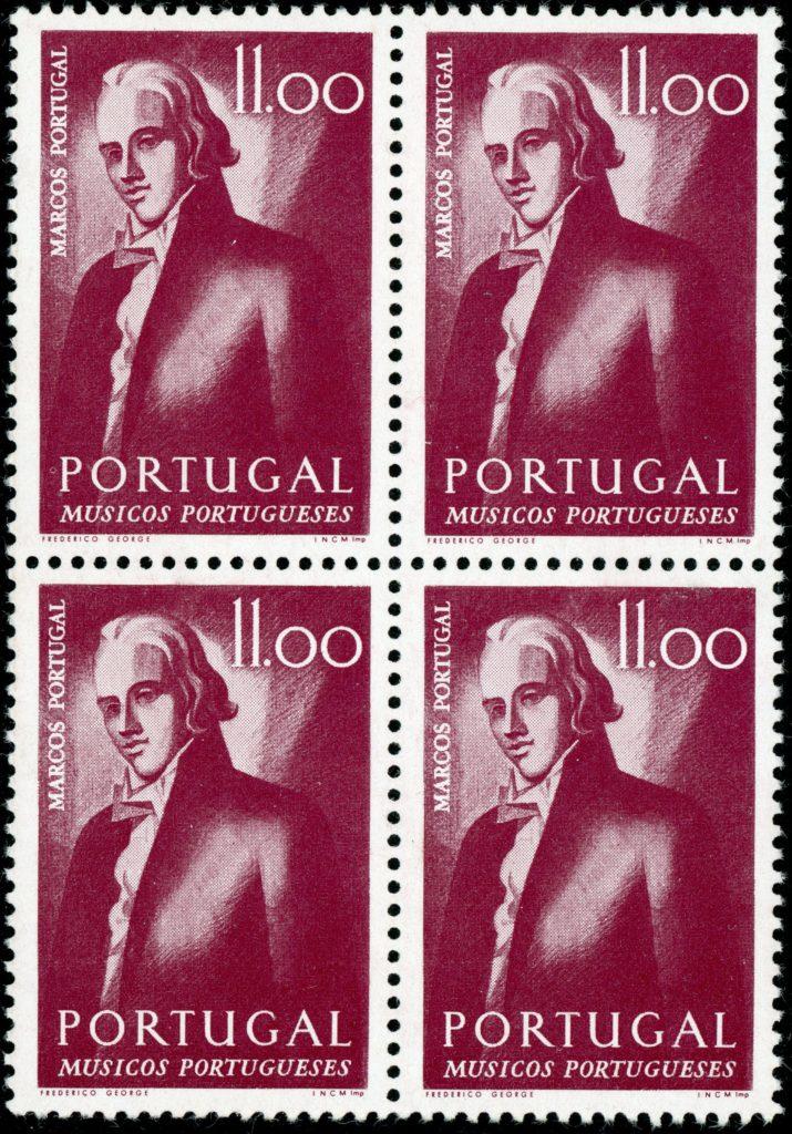 Portugal 1259 postfrisch Viererblock