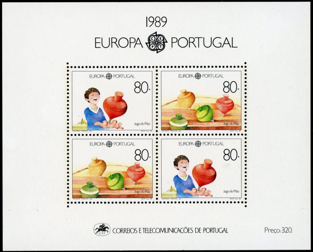 Portugal Block 64 postfrisch