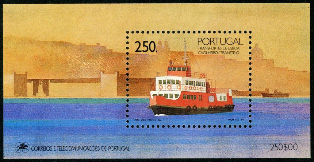 Portugal Block 65 postfrisch