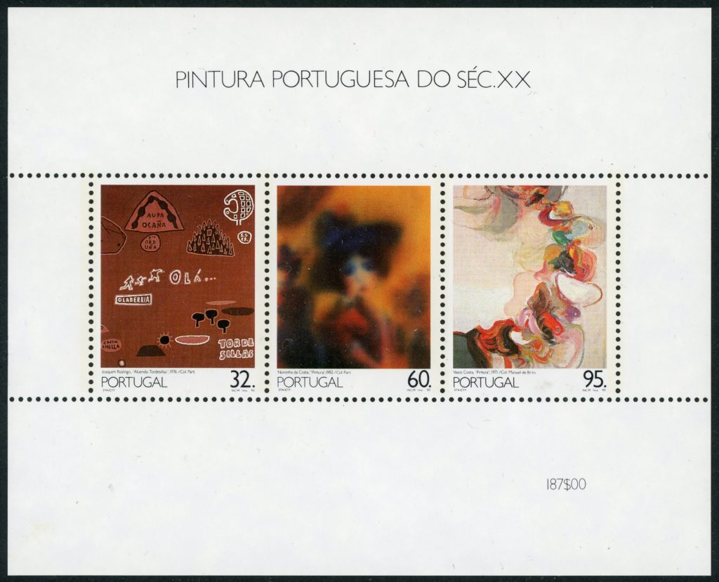 Portugal Block 70 postfrisch