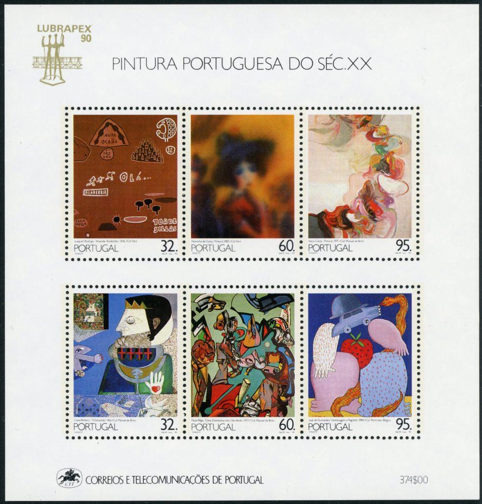 Portugal Block 74 postfrisch